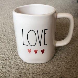 Rae Dunn LOVE mug